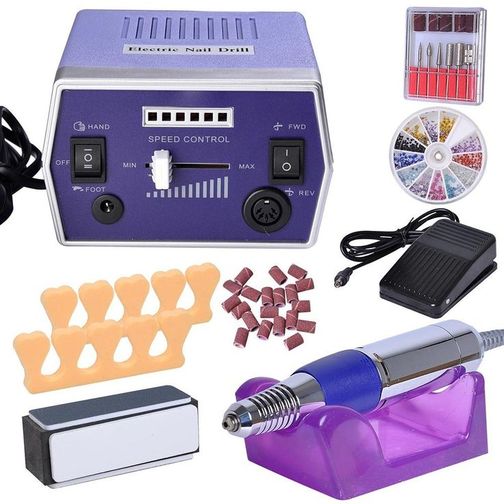 Pro Electric Nail File Drill Adjustable Manicure Tool Pedicure Machine Set Kit -- Want additional info? Click on the image.