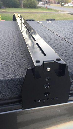 Toyota Tundra Tonneau Cover >> Toyota Tacoma Hi Rise Crossbars, for use with tonneau ...