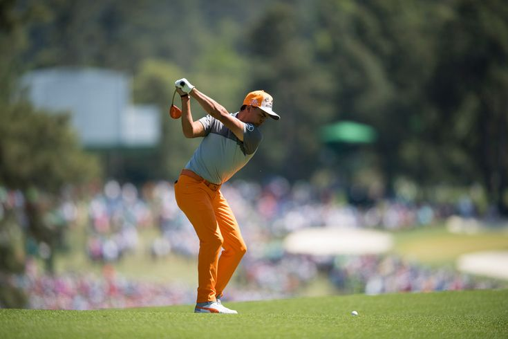 Rickie Fowler during the final round.