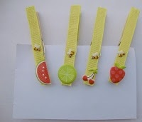 fruit #clothespins