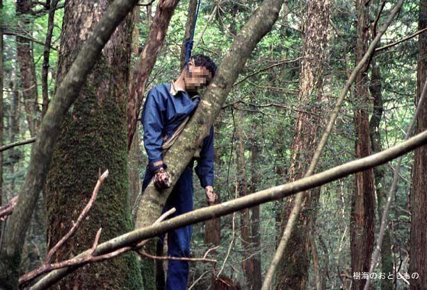 El Bosque Aokigahara Según la leyenda, aquí habitan algunos demonios de la mitología japonesa. Es un popular lugar donde la gente se suicida . los Gps y brujulas en este bosque dejan de funcionar.