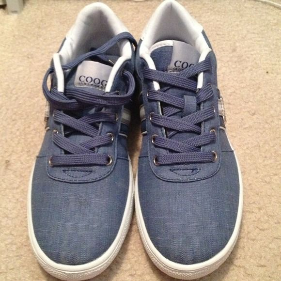 Coogie Sneakers size  7.5 Blue Coogie Sneakers Brand New No Box Coogie Shoes Sneakers