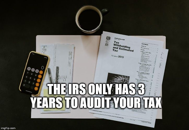 Period Limitation Rule Require That The Irs Takes 3 Years To Audit Any Tax Returns For Correction And Assess Any Additional Tax The 3 Yea Irs Audit Tax Return