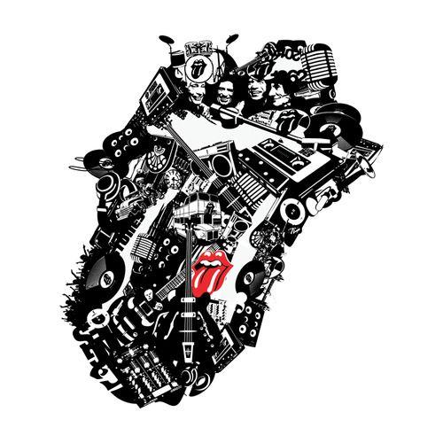Projeto parabeniza 50 anos dos Rolling Stones com 50 novos logos ! |   DIEGO CRESCIMBENI (PONI)