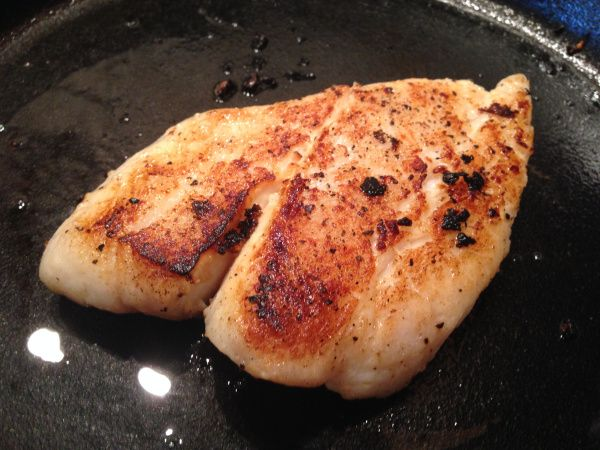 Fish in Garlic Butter Sauce from www.sleevers.wordpress.com. High protein, low carb, paleo, gluten-free, bariatric, VSG, WLS.