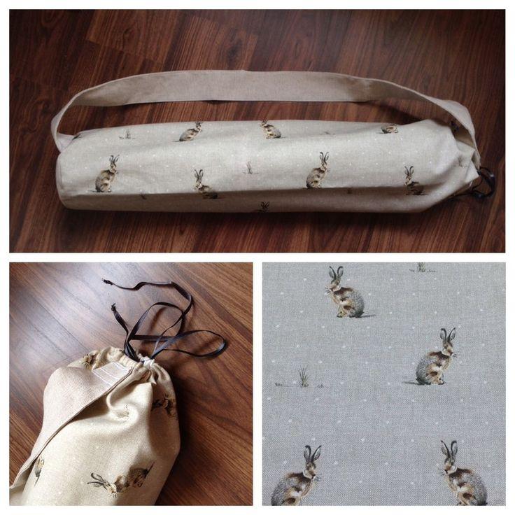 Handmade Yoga Sport Mat Carrier Bag Tote using Cath Kidston Fryetts Laura Ashley