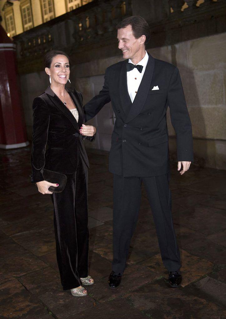 Prince Joachim And Princess Marie Of Denmark Arrive At Fredensborg Castle For Dinner And Concert For Representatives Of The Det Danske Kongehus Koncert Kendte