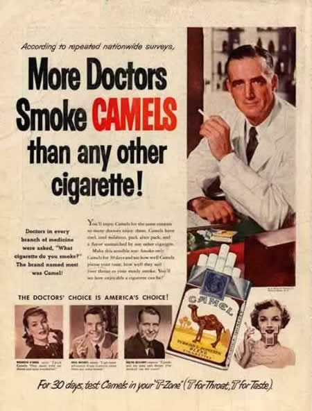 I love the old political incorrect ads. They tell a lot about the culture when they were made, and often have a strong design.