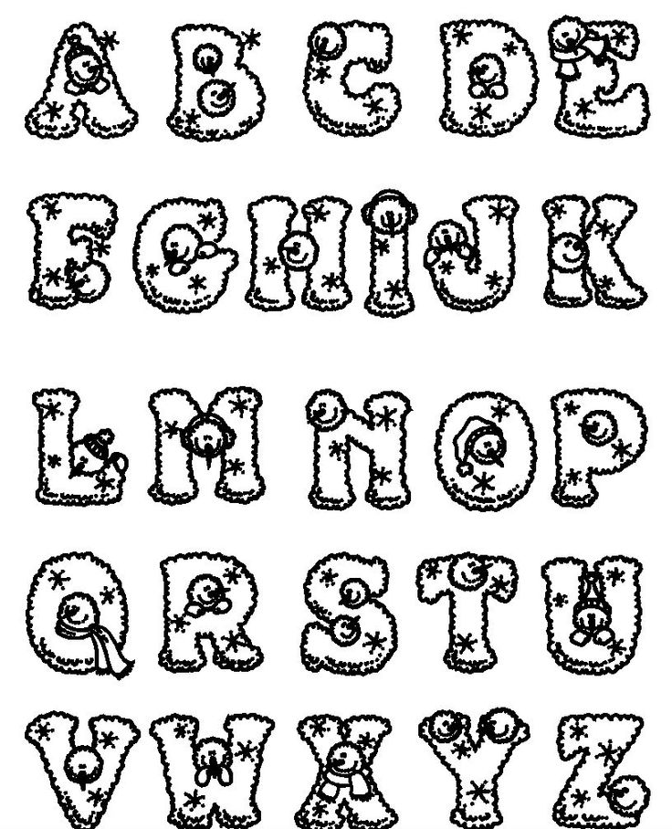 27 best funny alphabet images on pinterest | alphabet, coloring ... - Alphabet Printable Coloring Pages