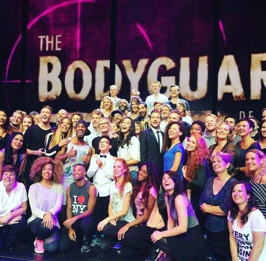 The cast of The Bodyguard! ☆