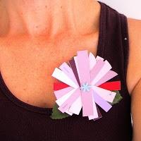 Paint Chip Flower