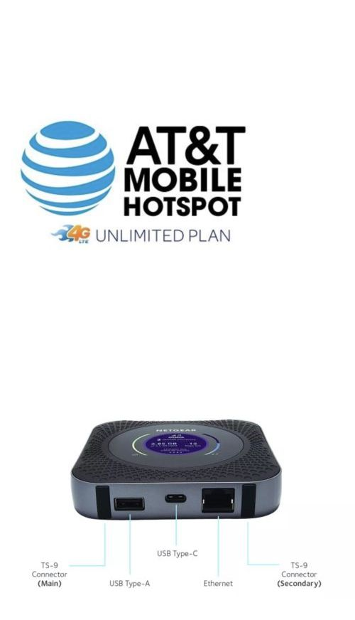 Mobile Broadband Devices 175710: Atandt Unlimited Data Rental, No