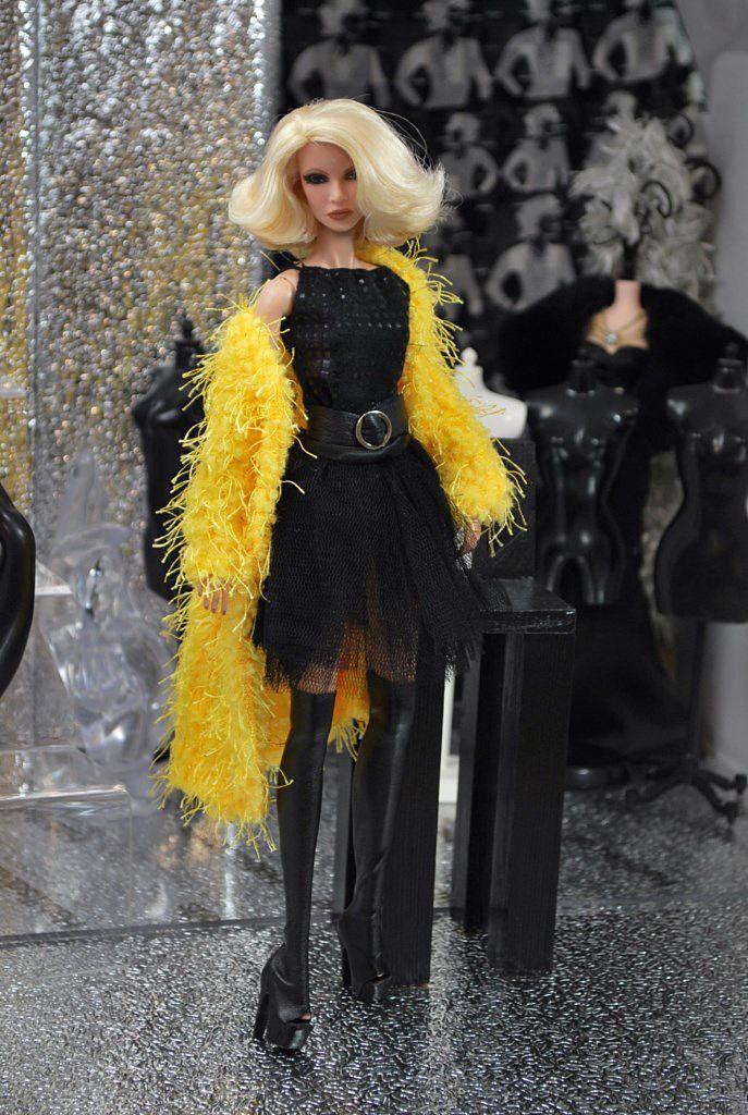 HABILISDOLLS tulle skirt outfit clothes for Fashion Royalty FR2, Barbie dolls | eBay