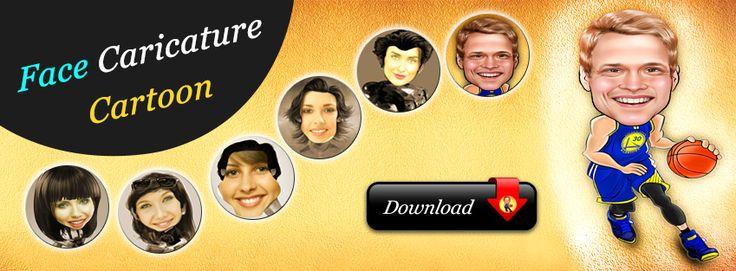 Face Caricature - Cartoon Maker | iOS #caricature #cartoonmaker #software #photography #funny #iPhone #iOS #App #facecaricature #Caricatures #imagecaricature