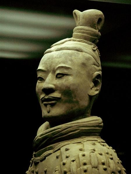 Chinese Terracotta soldier--got to see these in Houston. I would so love to see them in China!!