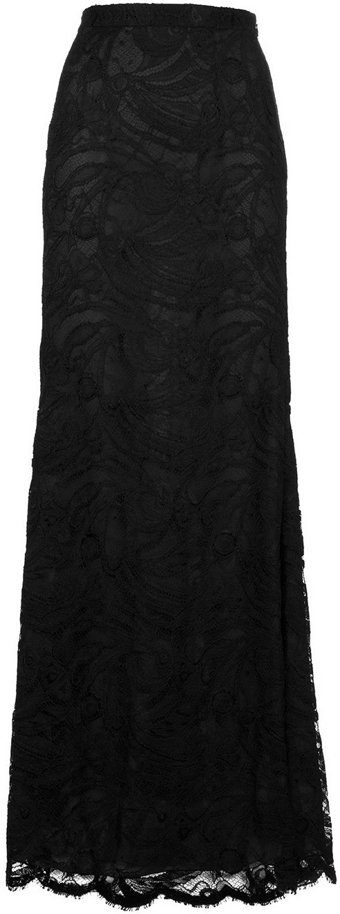 Lace maxi skirt.  Love lace.  Would be nice in cream