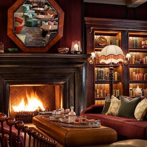 The Rosewood London hotel knows a thing or two about comfort, made clear in the delightfully cosy Scarfes Bar, without a doubt a book lover's dream bar. The classy spot has an epic collection of books and comfy spots to sit and read, not to mention a killer cocktail menu.