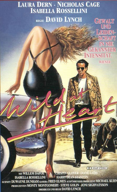 #WildatHeart - (1990) Directed by David Lynch- I love sailor and Lula!- dark…