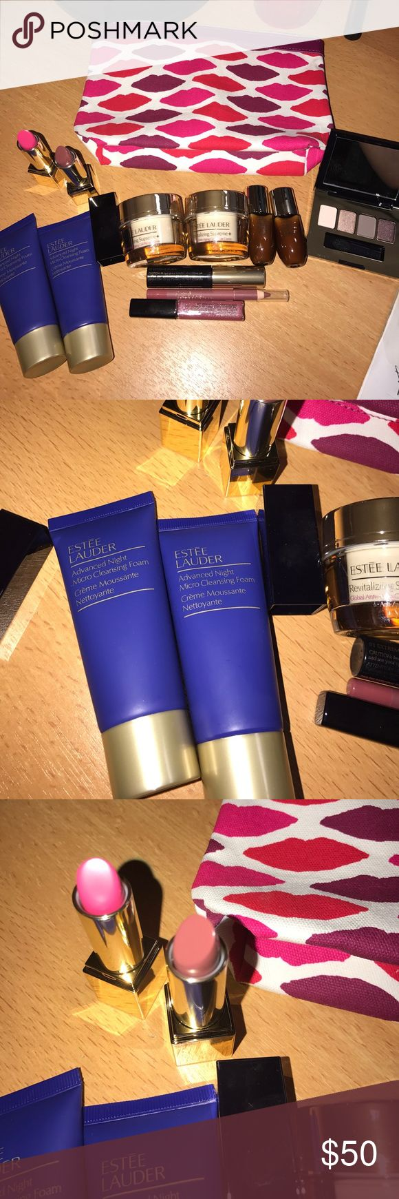 Estée Lauder 12 piece bundle!! NWT. Brand new. Never opened or used. Free gift with every purchase!  Bundle and save 30 percent!!!!!  Offers always welcome. No trades. Happy shopping 🛒 poshers!!! Estee Lauder Makeup