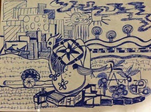 Mãos P´la ARTE: Lisboa, Brincadeiras II Graça Lisboa (1955)