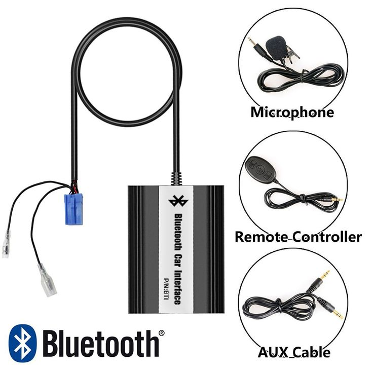 Bluetooth Receiver Car Kit Hands Free Phone Call Wireless Music Adapter for Alfa Romeo