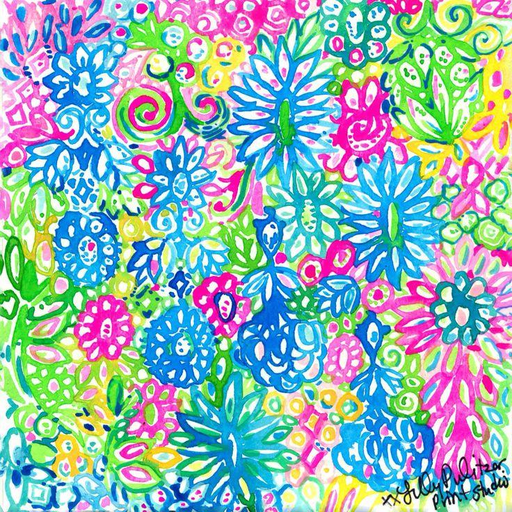 Mejores 20 imágenes de Lilly Prints en Pinterest   Impresiones de ...