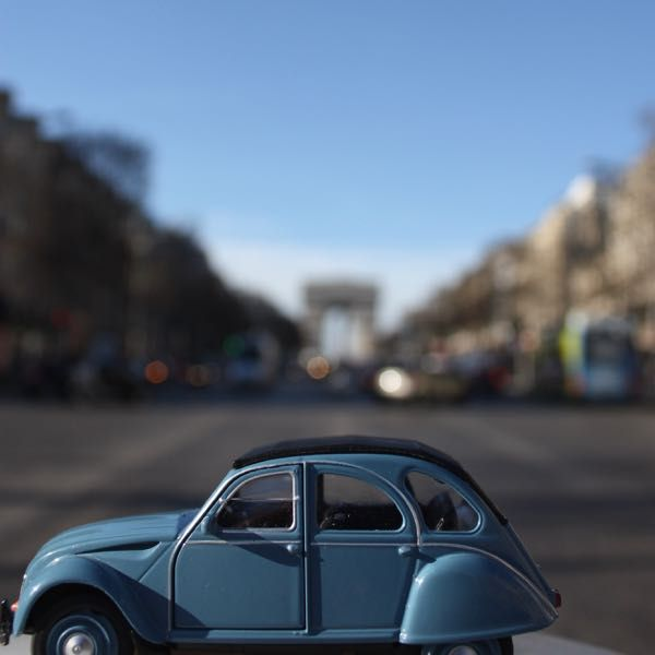 "2CV Week #20  PARIS PHOTO CHALLENGE: Think you know Paris? Each week I will be posting a picture of my Citroen 2CV car in front of a famous Parisian monument or location. Follow the challenge using the hashtag #JansFrance2CV on Twitter or Instagram or check out my website and make your guess. At the end of each week I will post the answer on my website under ""Paris"""