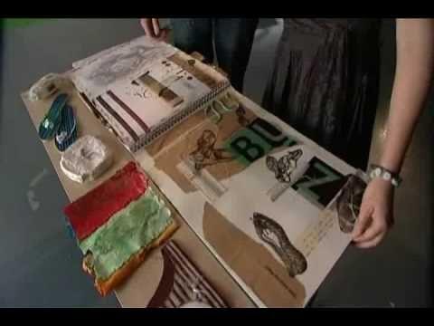 how to create a portfolio for art school