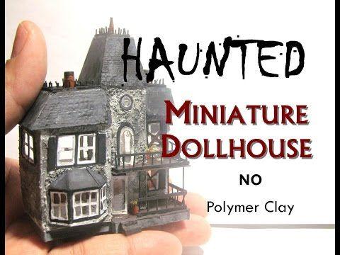 Haunted Halloween Miniature Dollhouse's Dollhouse Tutorial