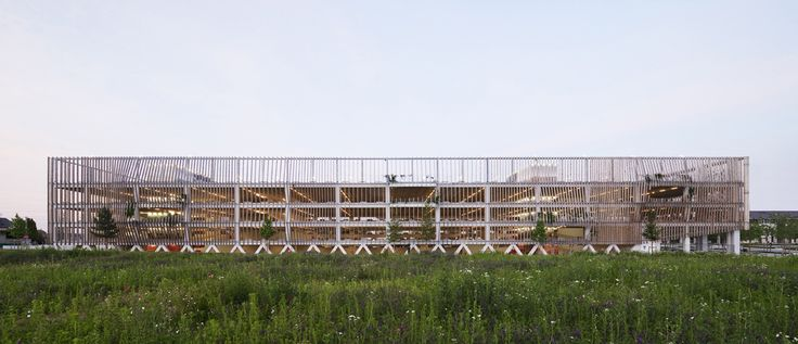 Gallery of Parking in Soissons / Jacques Ferrier Architectures - 21
