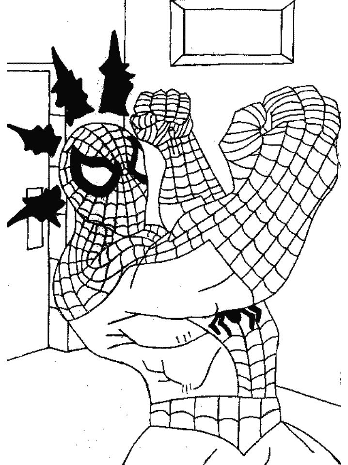 17 best images about spider man on pinterest free for Spiderman da colorare on line