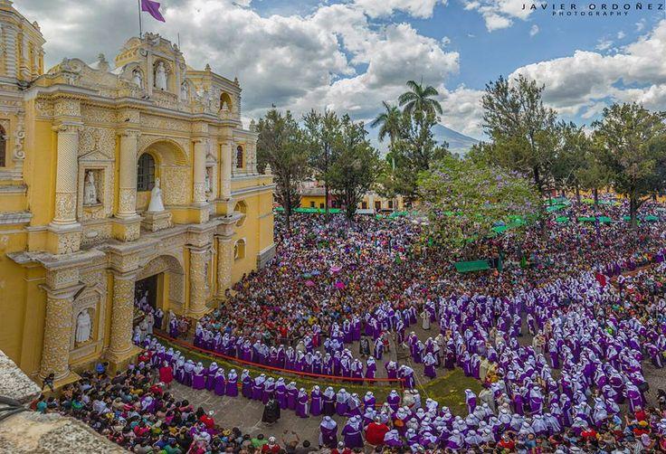 Procesión de Semana Santa, Antigua Guatemala