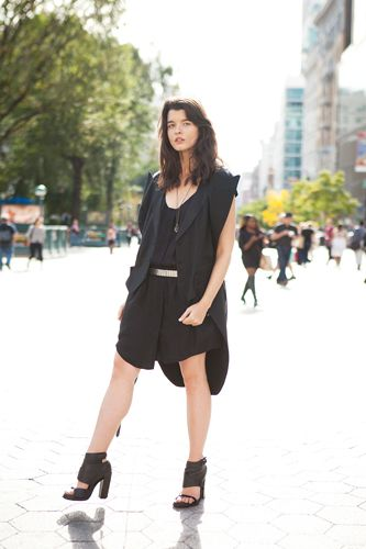 "1 Girl, 4 Looks: Crystal Renn's Intrepid Style #refinery29  http://www.refinery29.com/1-girl-4-looks-supermodel-crystal-renn#slide4  What was your favorite fashion moment? Editorials you shot? ""My favorite fashion moment was definitely going to the Met Ball with Tamara Mellon — I was wearing a dramatic Zac Posen two-piece gown, Jimmy Choo shoes, and a crystalized purse! As for editorials, there have been so many that I have loved equally for different reasons, but I will say all of my work…"
