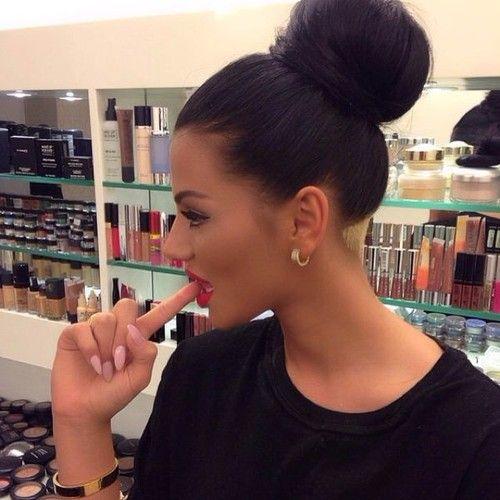 Enjoyable 1000 Ideas About Big Bun On Pinterest Super Long Hair Long Short Hairstyles For Black Women Fulllsitofus