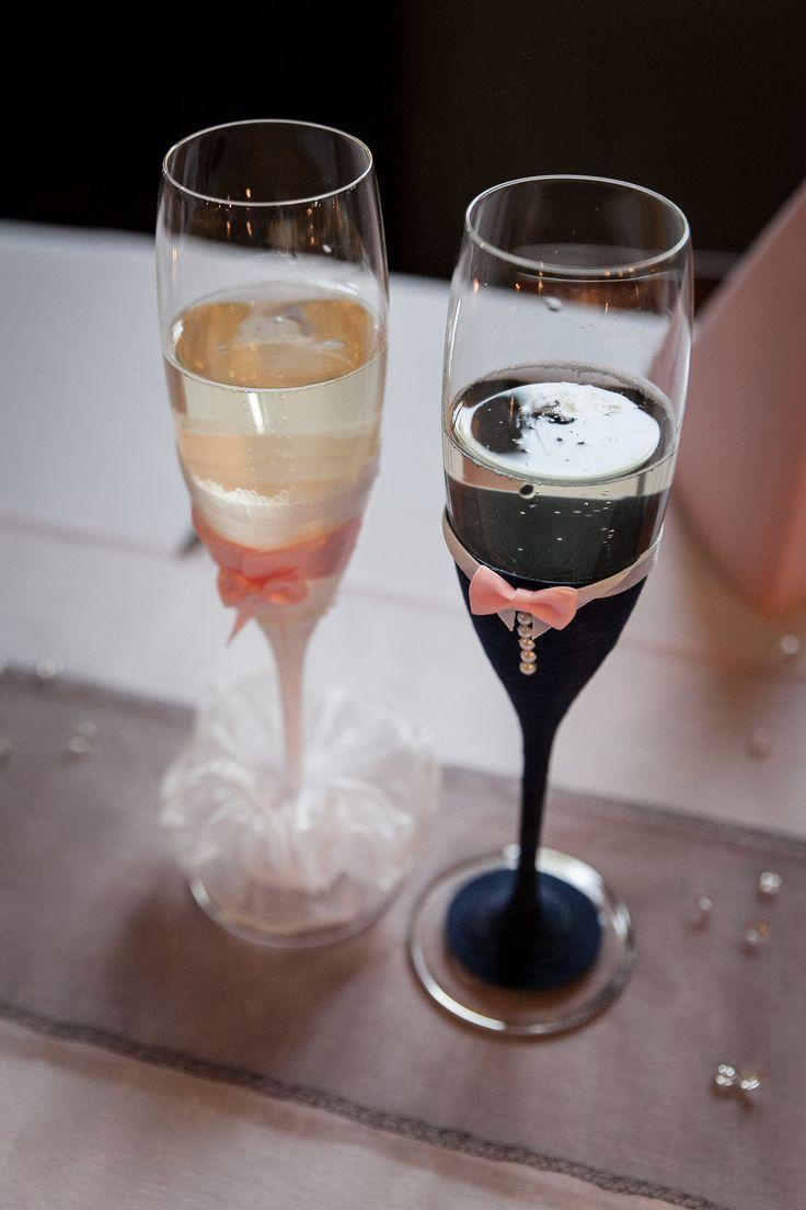 Originální+svatební+sklenice+Věřím,+že+by+se+mohly+líbit+i+Vám.+Mám+ráda+domácí+kreativní+tvoření,+takže+sklenice+m…