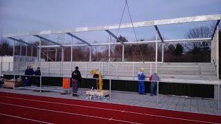 SKWshop ook tribune bouw. Lees het blog van Angelo. De 1e tribune geheel volgens de nieuwe normen geleverd!