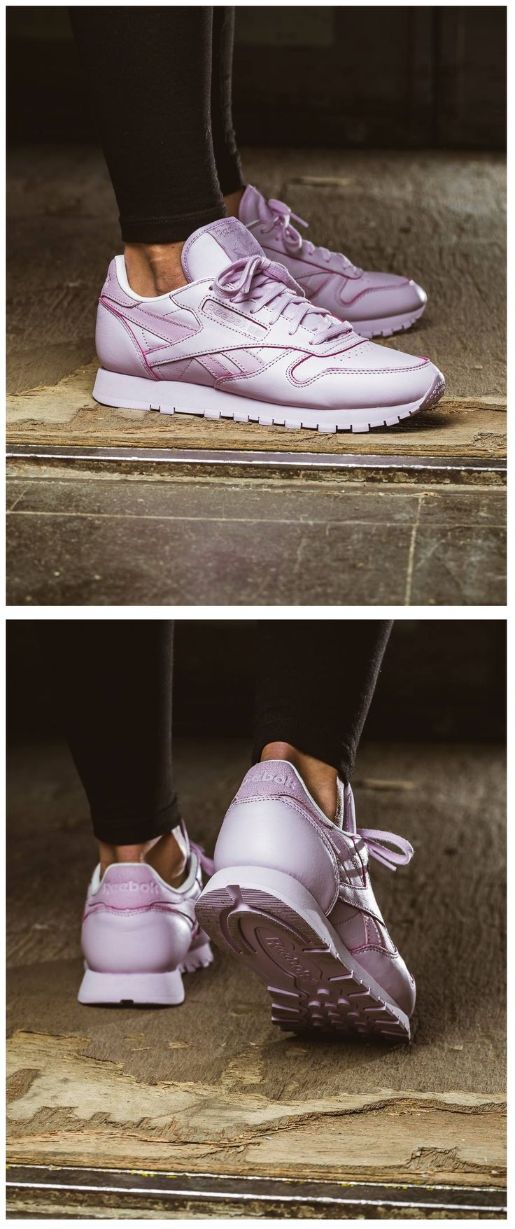 Reebok Classic Leather 'Tonal Pastel': Purple