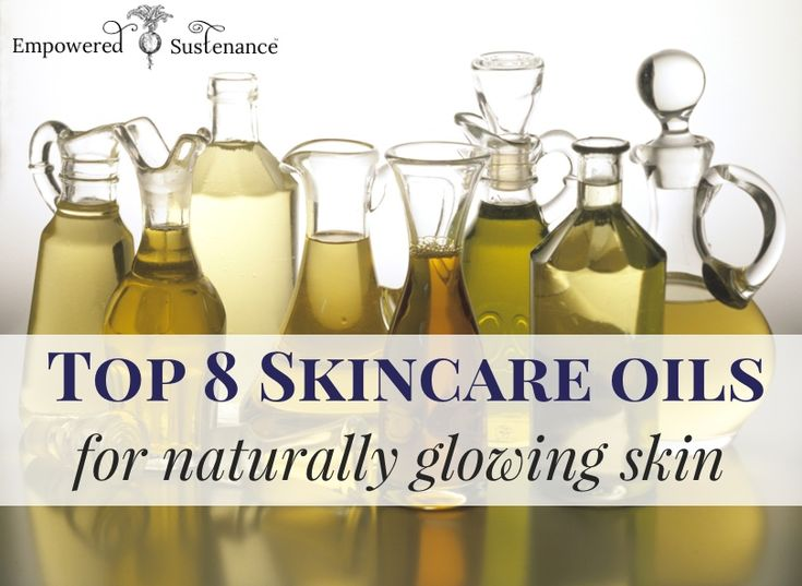 Top 8 skincare oils for glowing skin
