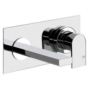 38689 + 13297 - Gessi Emporio Via Manzoni Built In Mixer with 200mm Spout - Bathroom