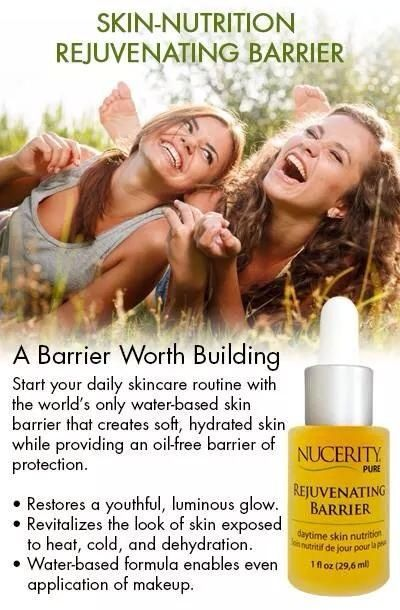 I wouldn't go a day without my Rejuvenating Day Barrier! Especially during the summer.