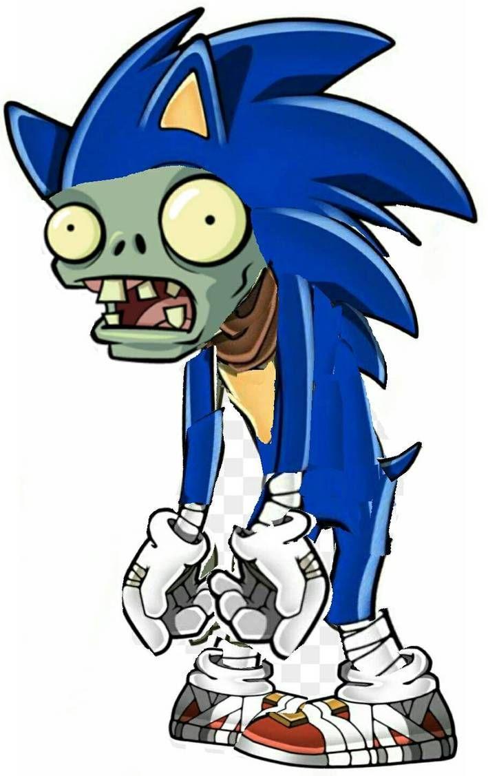 Sonic Zombie Boom By Allstarzombie55 Plant Zombie Plants Vs Zombies Plants Vs Zombies Birthday Party