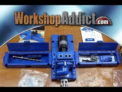 ▶ Kreg K5 Jig Pocket Hole System Review - YouTube