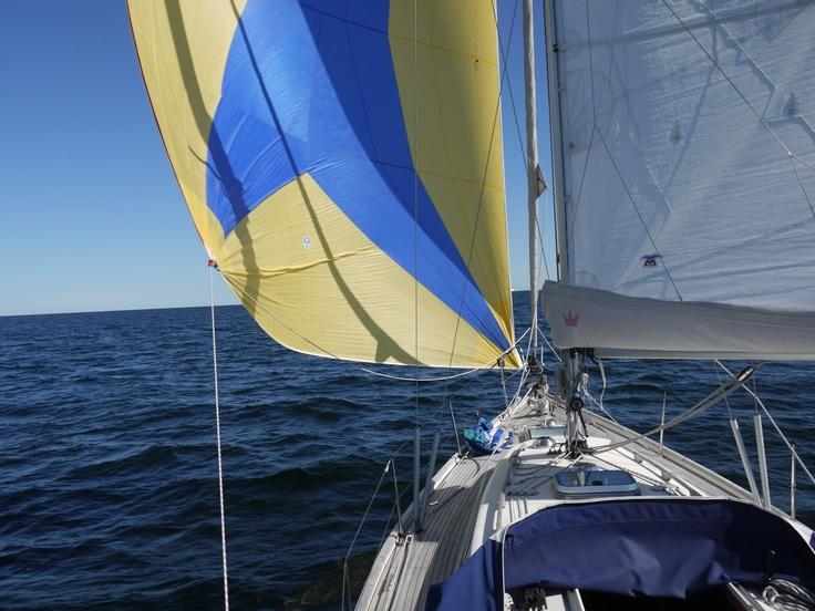 Crossing the Åland Sea #sailing