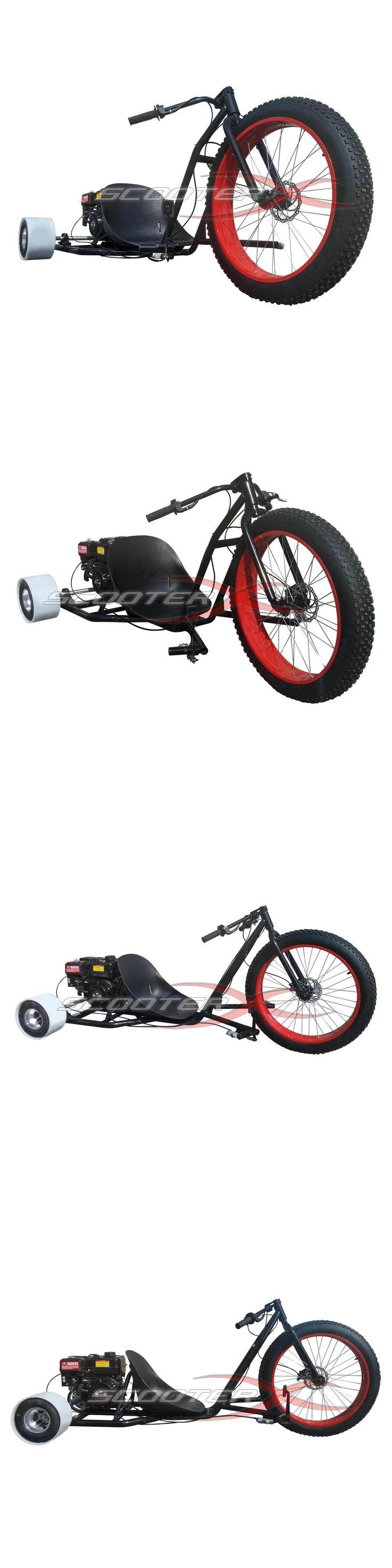 Gas Scooters 75211: Gas Powered Drift Trike 6.5Hp Engine Motorized Big Wheel 3 Wheeler Drift Kart -> BUY IT NOW ONLY: $949.96 on eBay!