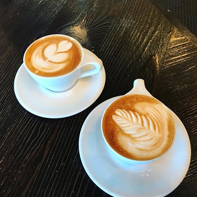 Two Cappuccino S From Boss Coffee Bosscoffeehouse Bosscoffee Boss Coffee Coffee Pictures Cappuccino