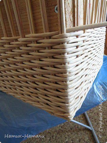 Поделка изделие Плетение Март-апрель Трубочки бумажные фото 57