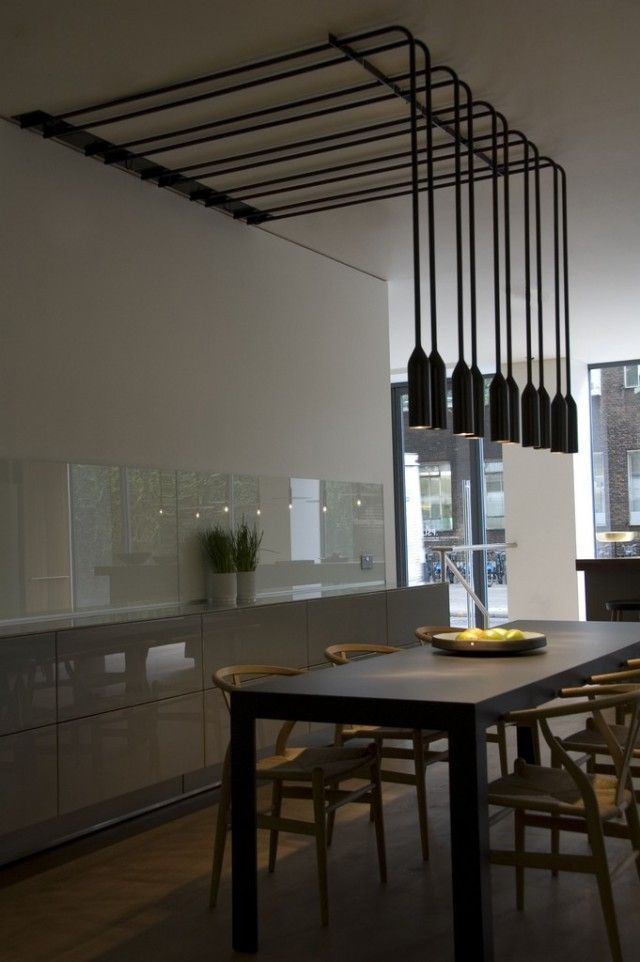 bulthaup clerkenwell - the single height panel above the sidebaord doesn't do it for me. Apart from that, great space.