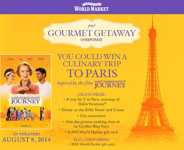 Among the Young: Cost Plus World Market & Disney presents: The Hundred Foot Journey movie, recipes, and giveaway!