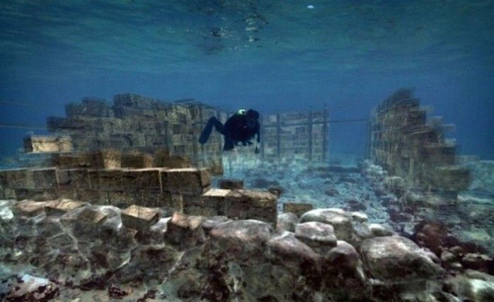 The Ancient Underwater City in Greece