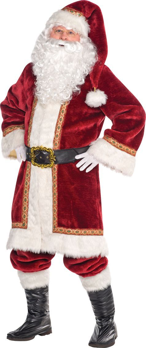 Adult Old-Time Santa Costume - Party City
